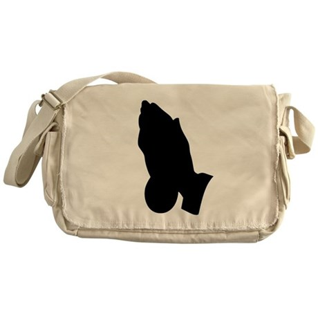 Praying Hands Messenger Bag