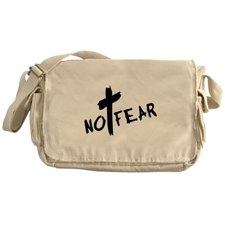 No Fear Messenger Bag