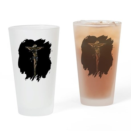 Jesus on the Cross Drinking Glass