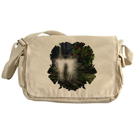 Adam and Eve Before Messenger Bag