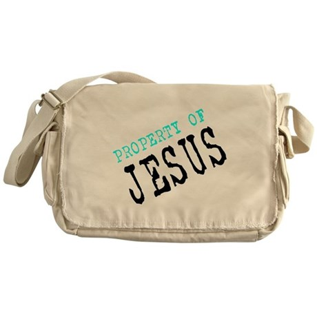Property of Jesus Messenger Bag