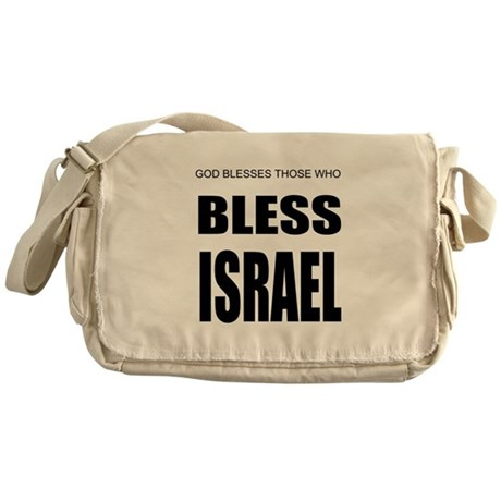 Bless Israel Messenger Bag