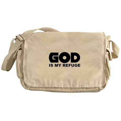 God's Refuge Messenger Bag