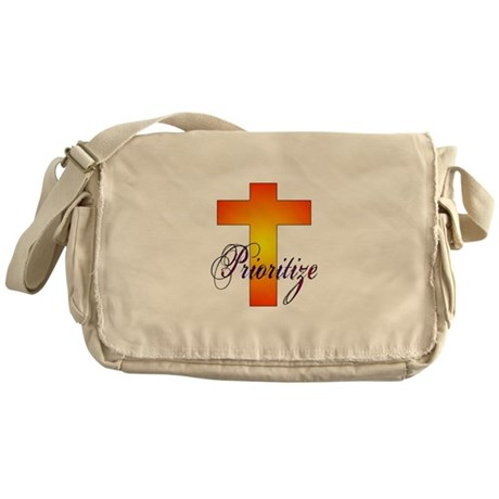 Prioritize Cross Messenger Bag
