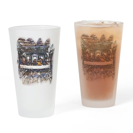 Lord's Last Supper Drinking Glass