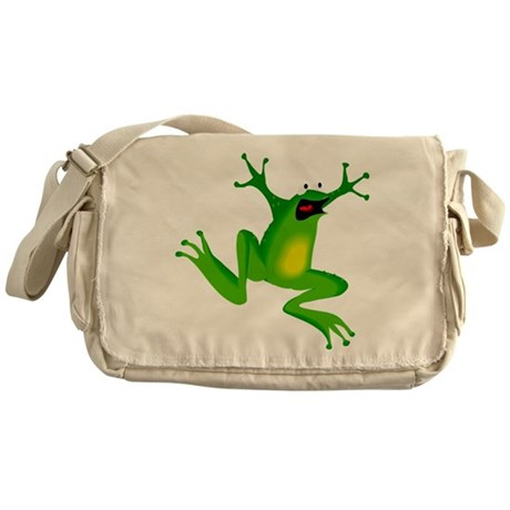 Feeling Froggy Messenger Bag
