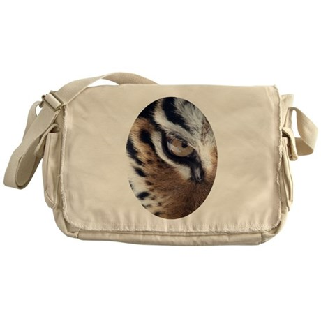 Tiger Eye Messenger Bag