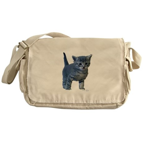 Kitten Messenger Bag