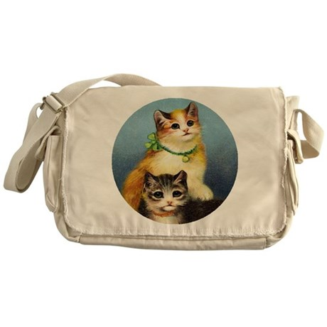 Cute Kittens Messenger Bag