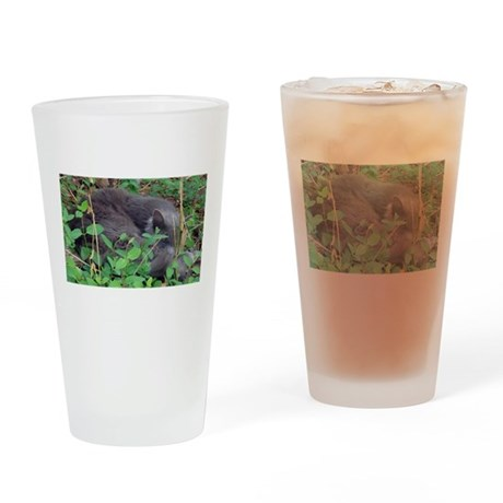 Honeysuckle Nap Drinking Glass