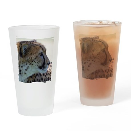 Cheeta Drinking Glass