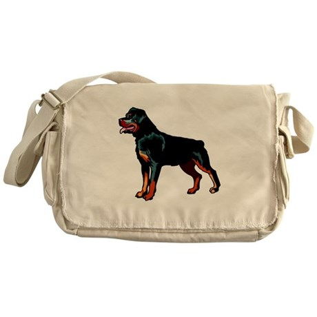 Rottweiler Messenger Bag