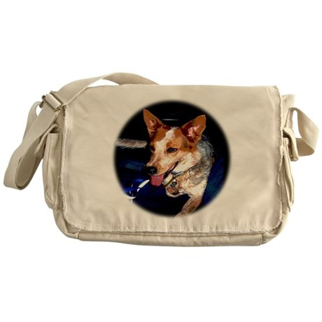 Red Heeler Messenger Bag