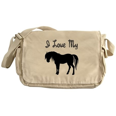 Love My Pony Messenger Bag