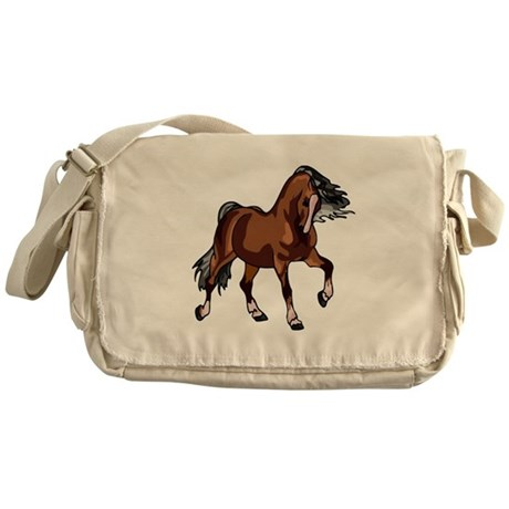 Spirited Horse Messenger Bag