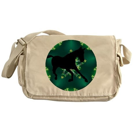 Horse Messenger Bag
