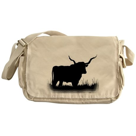 Longhorn Messenger Bag