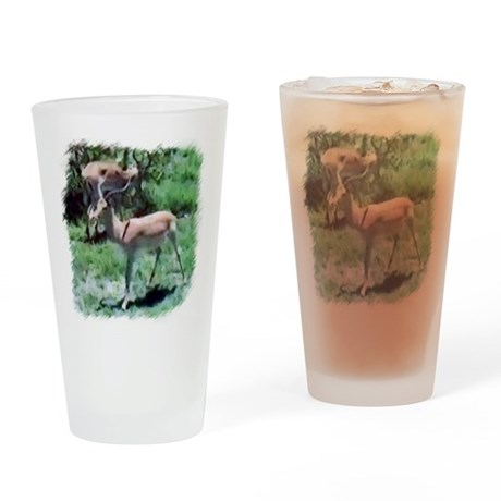 Gazelle Drinking Glass