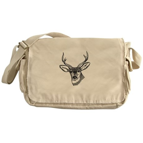 Whitetail Deer Messenger Bag