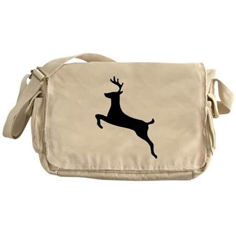 Leaping Deer Messenger Bag