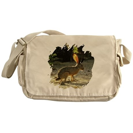 Texas Jackolope Messenger Bag
