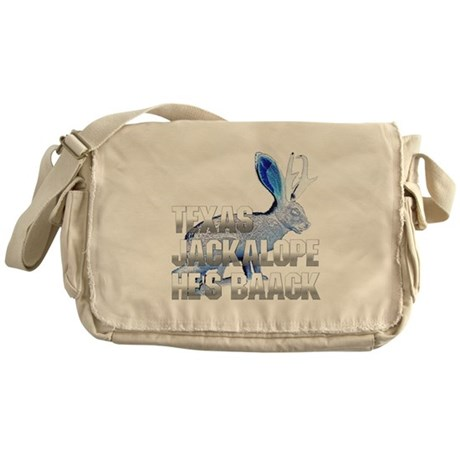 Texas Jackalope Messenger Bag