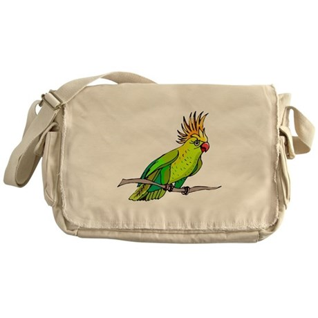 Cockatoo Messenger Bag
