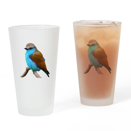 Bluebird Drinking Glass