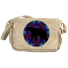 Bear Messenger Bag