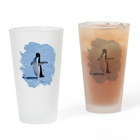 Penguin Drinking Glass