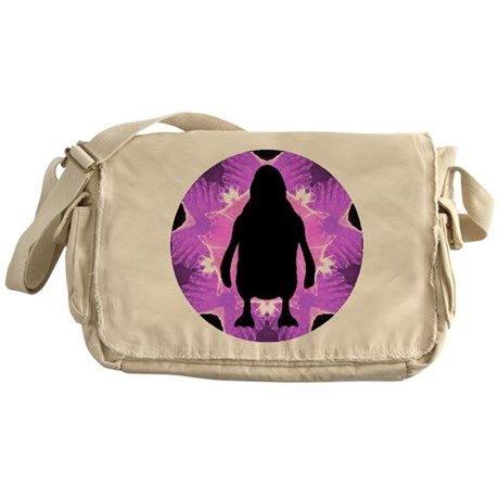 Kaleidoscope Penguin Messenger Bag
