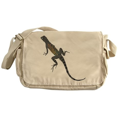 Lizard Messenger Bag