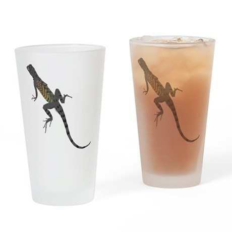 Lizard Drinking Glass