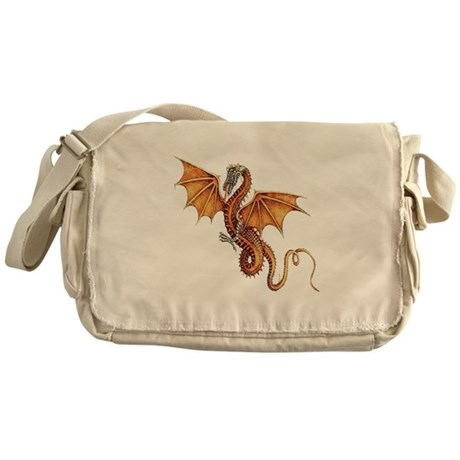 Fantasy Dragon Messenger Bag