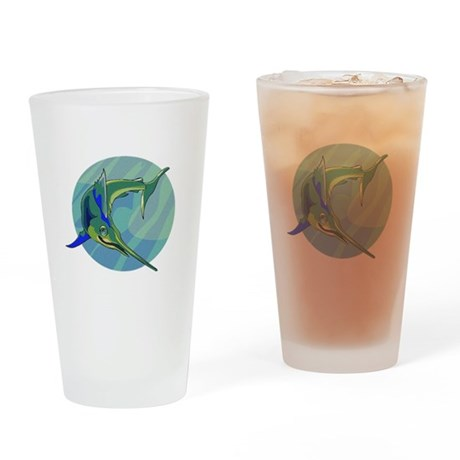 Sailfish Drinking Glass