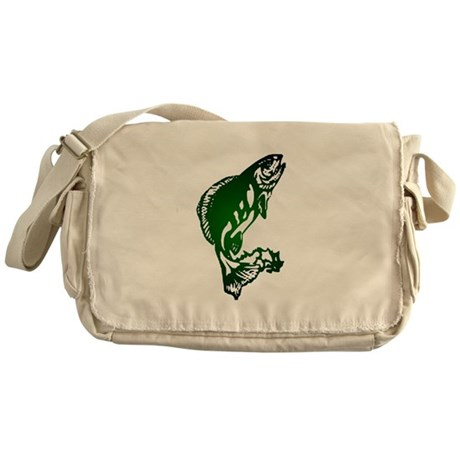 Fish Messenger Bag