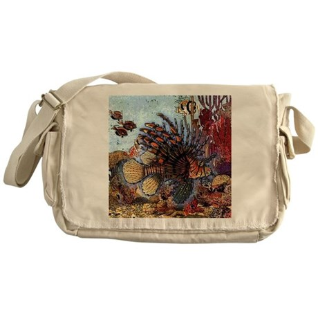 Ocean Window Messenger Bag