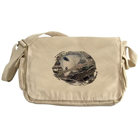 Peek-a-Boo Possum Messenger Bag