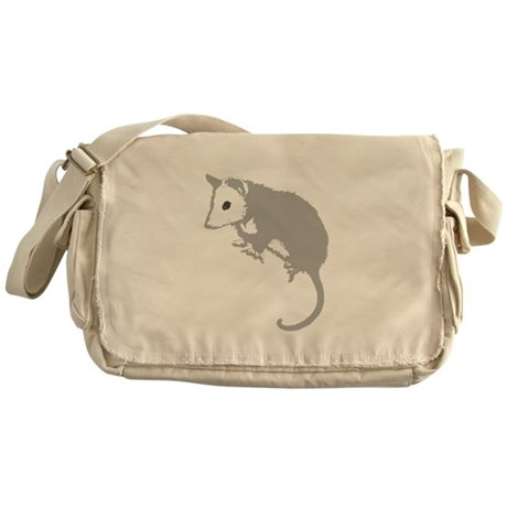 Possum Silhouette Messenger Bag