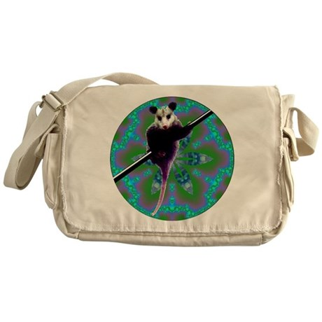 Possum Kaleidoscope Messenger Bag