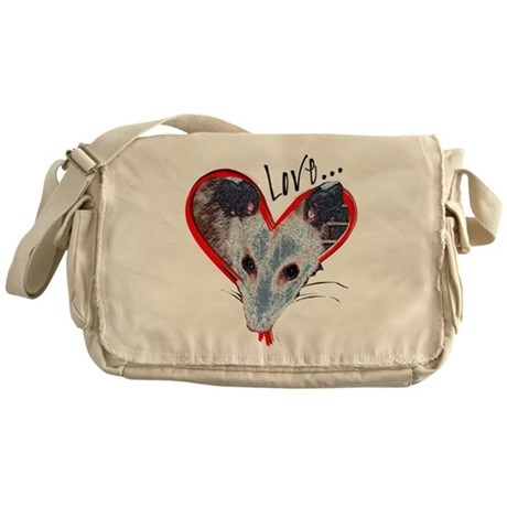Possum Love Messenger Bag
