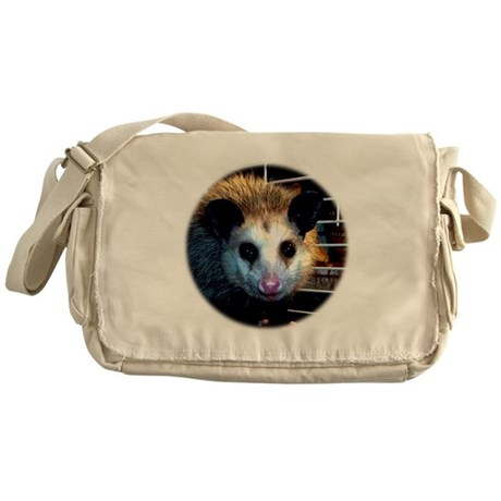 The Opossum Messenger Bag