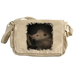 Sleepy Possum Messenger Bag