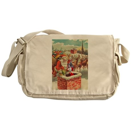 Santa's Helper Possum Messenger Bag