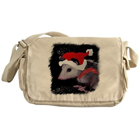 Possum Santa Messenger Bag