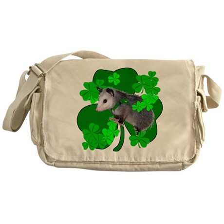 Lucky Irish Possum Messenger Bag