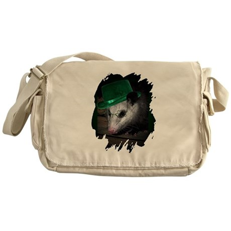 St Patrick's Day Possum Messenger Bag