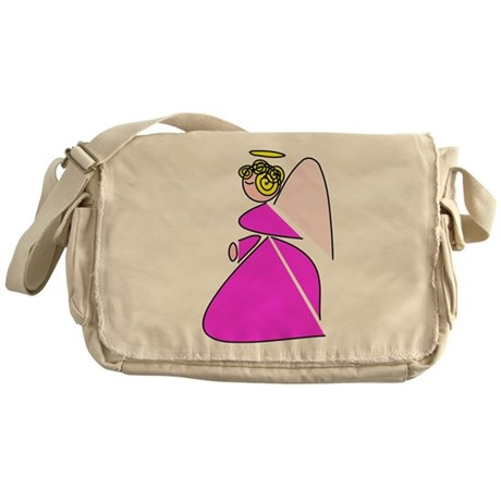 Pretty Angel Messenger Bag
