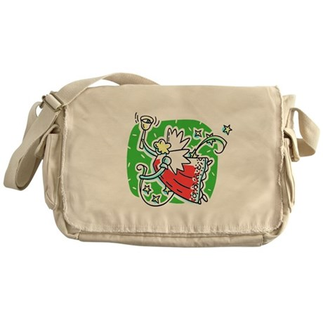 Whymsical Angel Messenger Bag