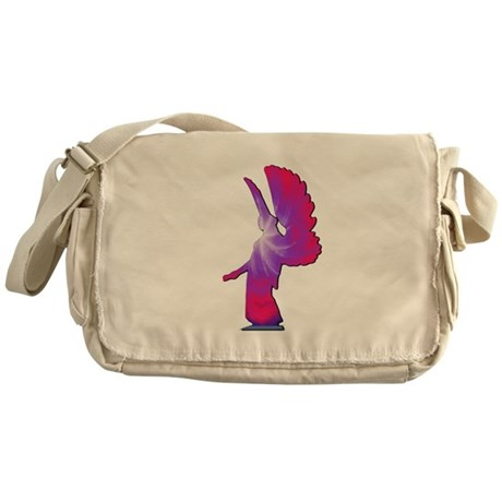 Pink Rainbow Angel Messenger Bag